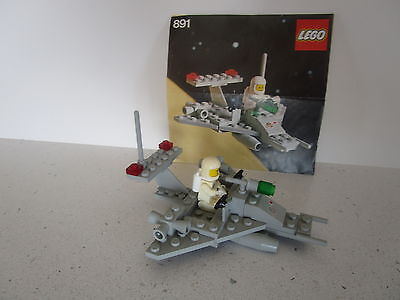 Lego 891 Classic Vintage Space - Two Man Scooter - Complete With Instructions