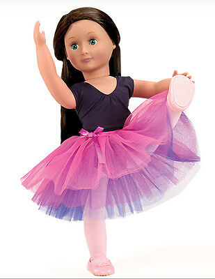 "Ballerina Genuine Our Generation 18"" Doll Clothes fits American Girl BRAND NEW!"