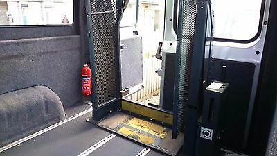 Ricon -  wheelchair electric lift and ramp for van