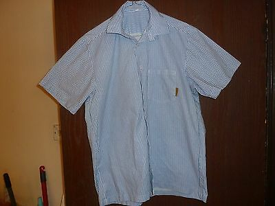 Prison Shirt. From  H.M.P. Prison Northumberland. Second Hand. Size 15. Scarce.