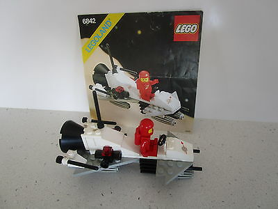 Lego 6842 Classic Vintage Space - Shuttleraft - Complete With Instructions