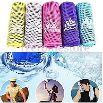 AONIJIE Instant Cooling Sport Gym Towel Drying Sweat Baby Absorb Dry Summer Gift