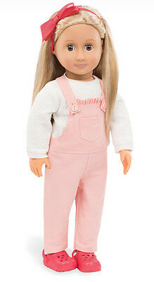 """Overalls Genuine Our Generation 18"""" Doll Clothes fit American Girl BRAND NEW!"""