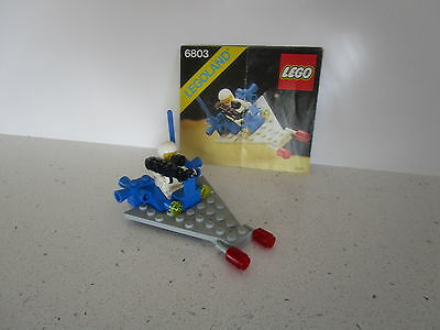 Lego 6803 Classic Vintage Space -Space Patrol - Complete With Instructions
