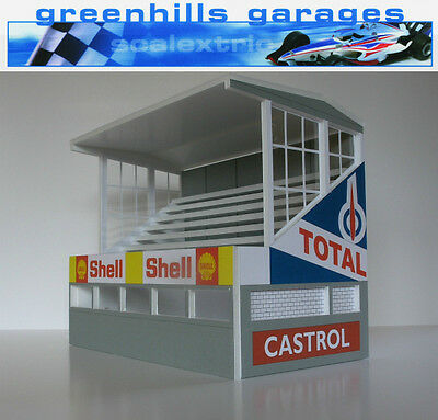 Greenhills Scalextric Slot Car Building Reims Grandstand Kit 1:32 scale - Brand