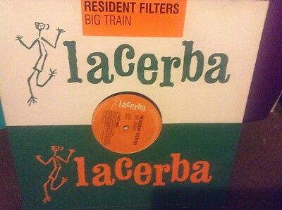 """Resident filters - big train - excellent condition 12"""" vinyl"""