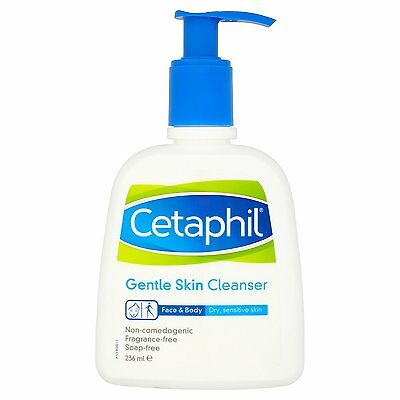 Cetaphil Gentle Skin Cleanser Sensitive Face Wash 236ml - Pack of 1 ,2 and 3