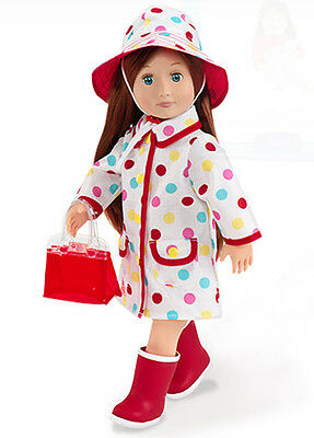 "Raincoat Set 18"" Doll Clothes fit American Girl BRAND NEW!"
