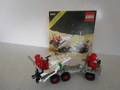 Lego  Classic Vintage Space -Space Probe  With Instructions