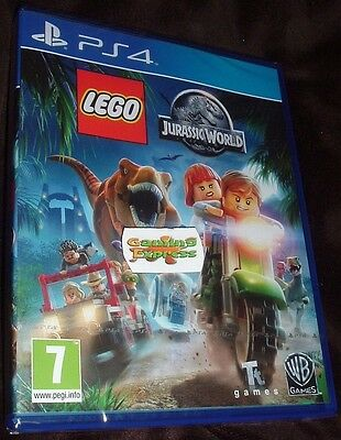LEGO Jurassic World Playstation 4 PS4 NEW SEALED FREE UK p&p Delivery UK SELLER