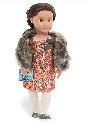 "SequinDress Genuine Our Generation 18"" Doll Clothes fit American Girl BRAND NEW!"