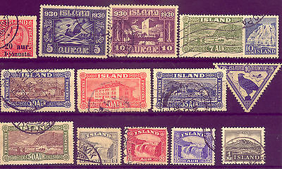 ICELAND: LOVELY COLLECTION of STAMPS  NO RESERVE