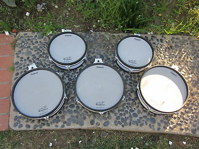 5 Roland pd-120 pd-100 5 PC V Drum Mesh Package WT