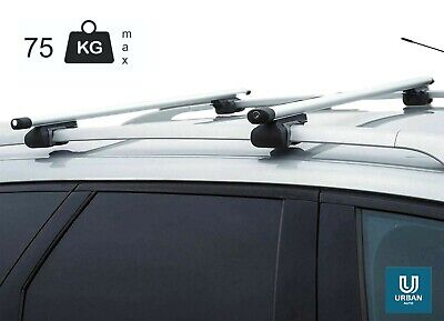 Mercedes C Class (W204) Estate (07 -12)Aluminium locking roof bars