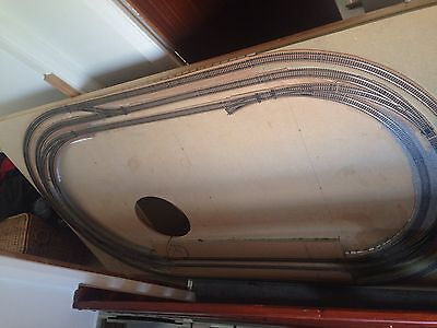 OO Gauge Train Layout, Peco Track. 7x4ft