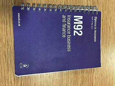 CII M92 Key Fact Book Insurance Business And Finance