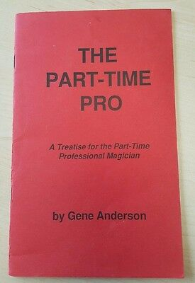 The Part-Time Pro. Gene Anderson lecture notes.
