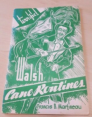 Walsh Cane Routines by Francis B. Martineau