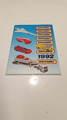 Matchbox Toy Catalogue 1992 Uk Edition Good Condition Booklet Reference Guide