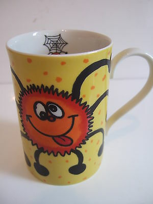 Collectable  Useful Dunoon Stoneware Cup / Mug- Creepy Crawlies By Brookshaw