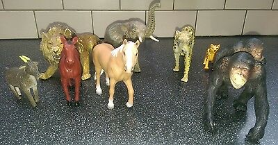 schleich horse and Seven unbranded Friends all had a bath ready for new play.  I