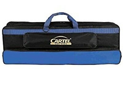 Cartel Recurve bow carry bag in blue and black