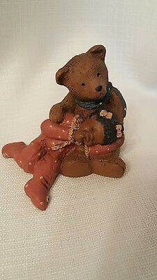 All God's Children Figurine, PADDY & LUCY, # 79, MARTHA Holcombe