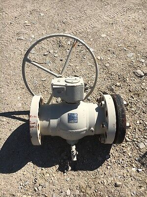 """6"""" 600 Flanged FP Cameron Fully Welded Ball Valve, Gear Operated"""