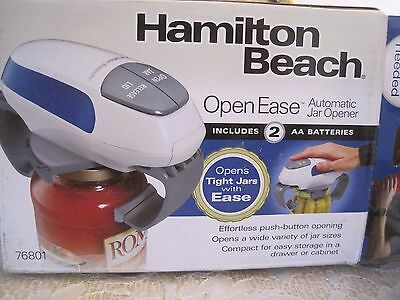Hamilton Beach Open Ease Automatic Jar Opener, New