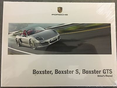 GENUINE Porsche Boxster 981 Owners Handbook / Manual 2014-2016 WKD981092015 NEW