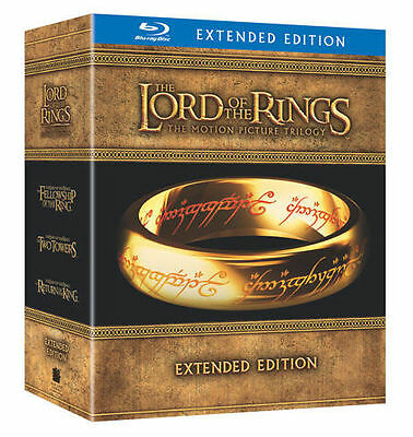 The Lord of the Rings: Extended Trilogy (Blu-ray Disc, 2011, 15-Disc Set)
