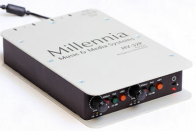 Millennia Media Systems HV-32P Portable Two Channel Microphone Preamplifier