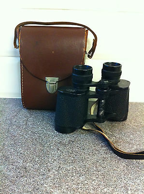 Carl Zeiss Jena DDR Jenoptem 8x30w Binoculars and Case
