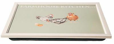 Price & Kensington Farmhouse Kitchen Lap Tray With Foam Backed for stability