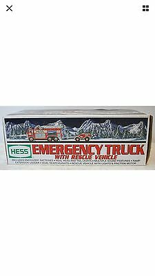 Hess 2005 Emergency Truck with Rescue Vehicle NEW