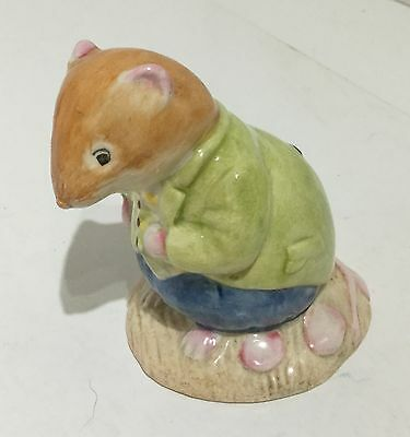 (TH31) Royal Doulton BRAMBLY HEDGE 'Old Vole' DBH 13 (1985 Jill Barklem)
