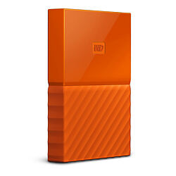 Wd - Ext Hdd Mobile Mypassport Ultra 1Tb Orange 2.5In Usb 3.0