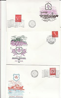 regional ist day covers