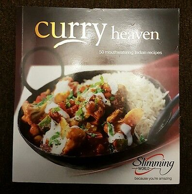 slimming world book- curry heaven
