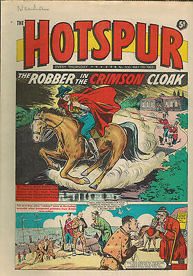 HOTSPUR COMIC 1968 Nos. 500-531 - 32 vintage issues & flyer