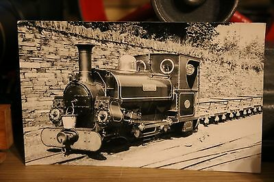 Narrow Gauge Railway Photo Hunslet Blanche Penrhyn Railway Wales 1956