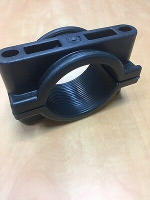 Plastic Clamp 100 mm For Pipe, Cable Or Soil Pipe Etc Will do combined postage.