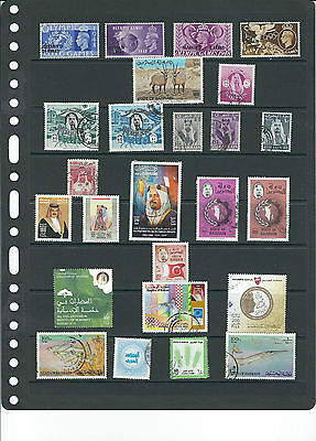 Bahrain Stamp Collection.