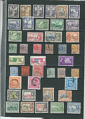 British Guiana Stamp Collection.