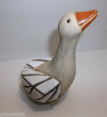 Artesonia RINCONADA GOOSE Retired SIGNED
