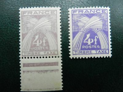 Superbe Variete Timbres France Neufs ** Ttbe  Sans  Charnieres Ni Traces