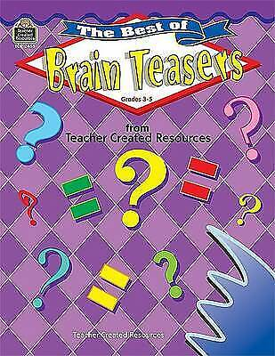The Best of Brain Teasers by Kathleen Christopher Null (Paperback, 2001)