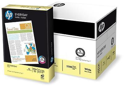 HP Everyday A4 White Paper - Pack of 5 Reams (500 Sheets Per Ream) 75gsm