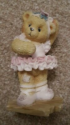 Cherished teddies ballerina ornament
