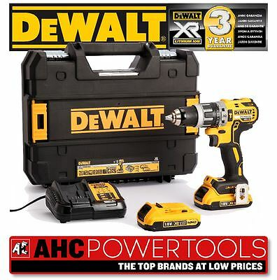 DCD796D2 Combi Drill 18V XR Brushless Compact Lithium-Ion (2 x 2.0Ah Batteries)